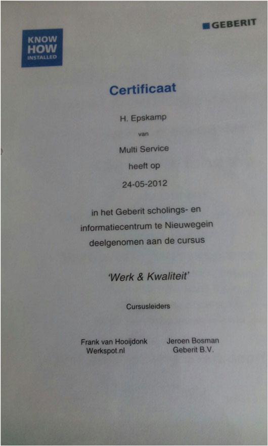 certificaat-sanitair-werk-kwaliteit
