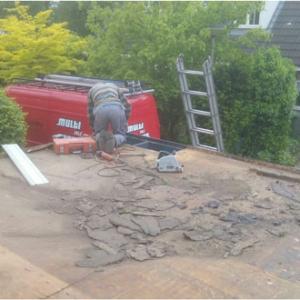 Garagedak laten vervangen door de dakdekker